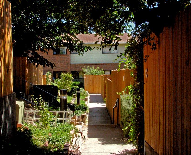 walkway at Greenbriar Co-op